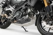 Engine guard Black/Silver. For V-Strom 1000 without crash bar. MSS.05.440.10100